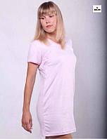 Ночная рубашка для кормящих мам однотонная р. 42-56