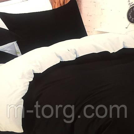 """Постельное белье 3D эффект евро размер,две нав-ки 70/70"""" двухцветное"""", фото 2"""