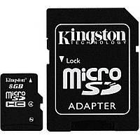 Карта памяти 8Gb Micro-SDHC Kingston class4