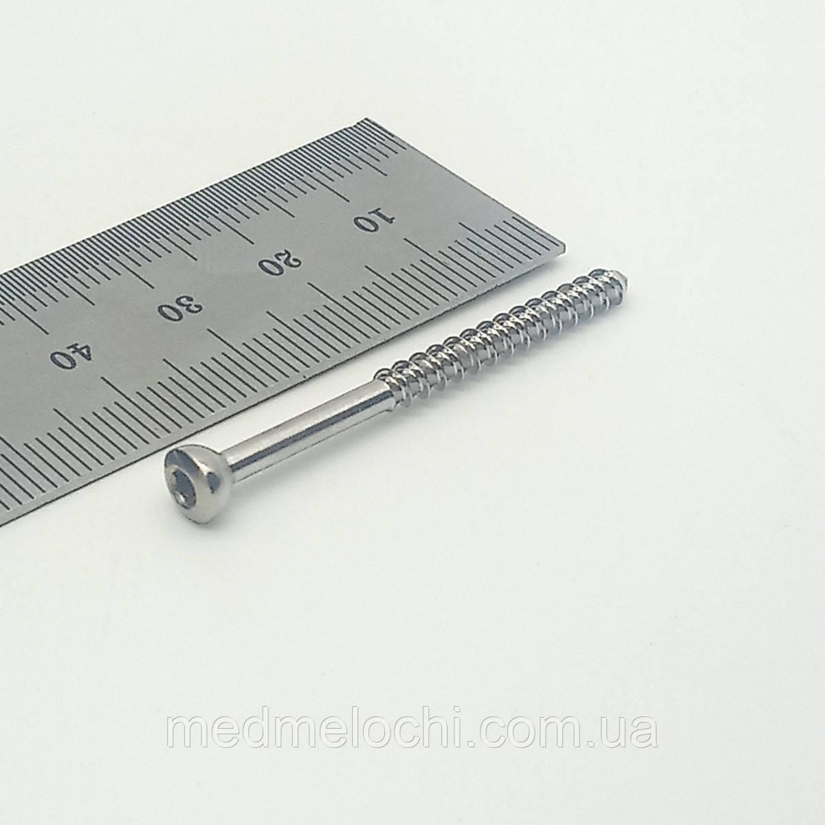 Гвинт малеолярний малий D=3,5мм, 45мм