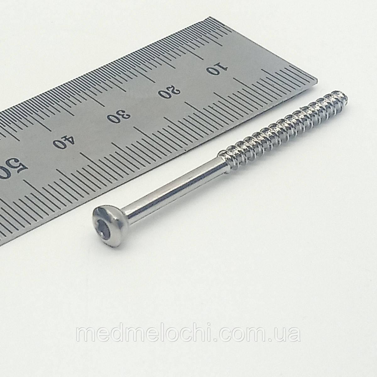 Гвинт малеолярний малий D=3,5мм, 50мм