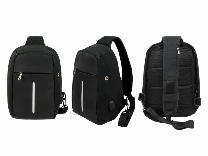 Городской рюкзак для ноутбука черный mini-XD Office