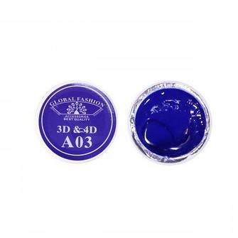 Гель-пластилін 3D-4D