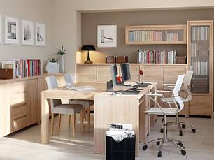 "Меблі в кабінет ""Каспіан"" БРВ (дуб Сонома)"
