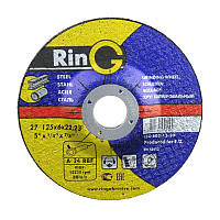 Круг зачистной Т27 14А 115х6х22 Ring