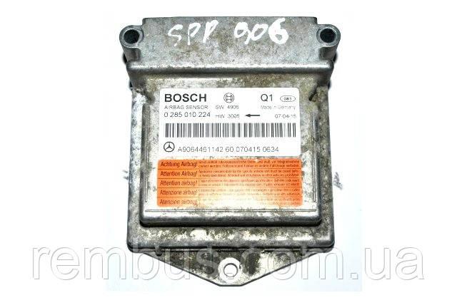 Блок управления AIRBAG MB Sprinter W906  (BOSCH 0285010349)