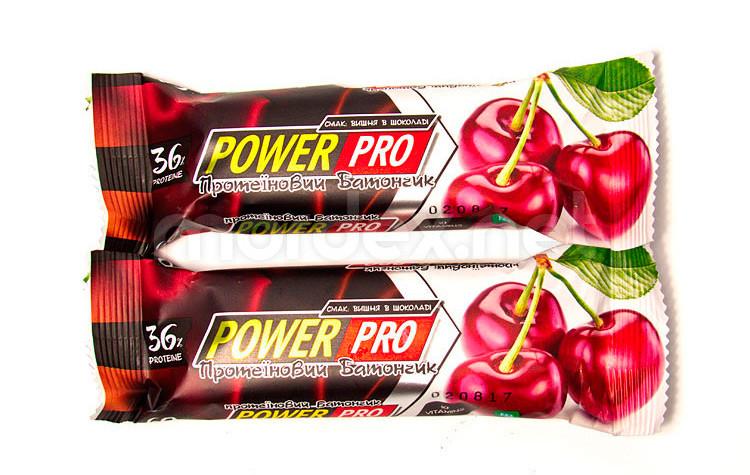 Power Pro 36% (60 g, вишня в шоколаді)