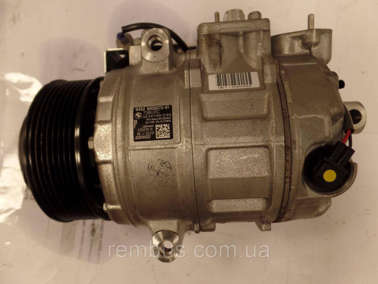 Компрессор кондиционера HFC134 ND-OIL8 190 см/кв. MB 3.0CDI OM642