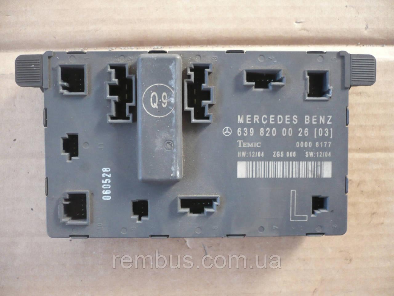 Блок управления двери (L) MB Vito W639 (639.601)