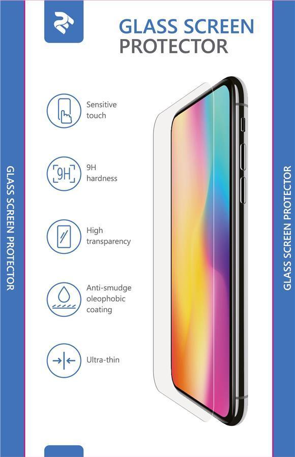 Защитное стекло 2E 2.5D для Samsung Galaxy A7 2018 Прозрачное