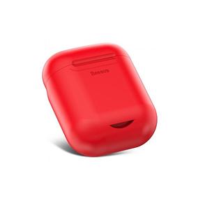 Чохол-зарядка Baseus для навушників Apple AirPods WIAPPOD-09 Безпровідна зарядка Червоний (123187), фото 2