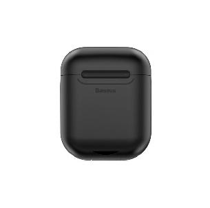 Чехол-зарядка Baseus для наушников Apple AirPods WIAPPOD-01 Беспроводная зарядка Черный (123186), фото 2