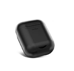 Чохол-зарядка Baseus для навушників Apple AirPods WIAPPOD-01 Безпровідна зарядка Чорний (123186), фото 2