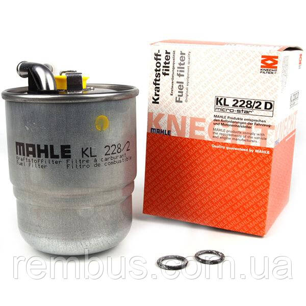 Фильтр топливный MB Sprinter 2.2-3.0CDI (+отв. датчика воды)