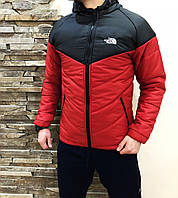 Куртка The North Face red, фото 1