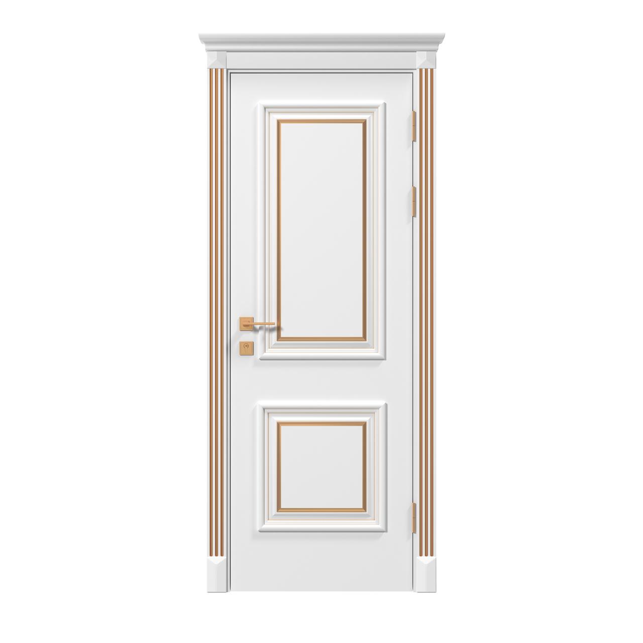 Двери Родос Siena Laura стекло 2, RAL,патина