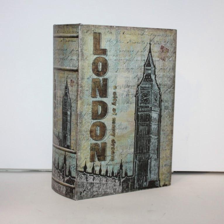 """Книга-сейф """"London"""" на ключике"""