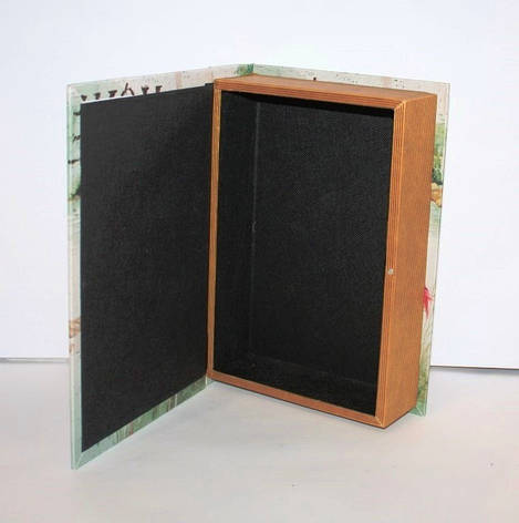 """Книга-сейф """"London"""" на ключике, фото 2"""