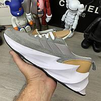 Adidas Sharks Brown Grey White, фото 1
