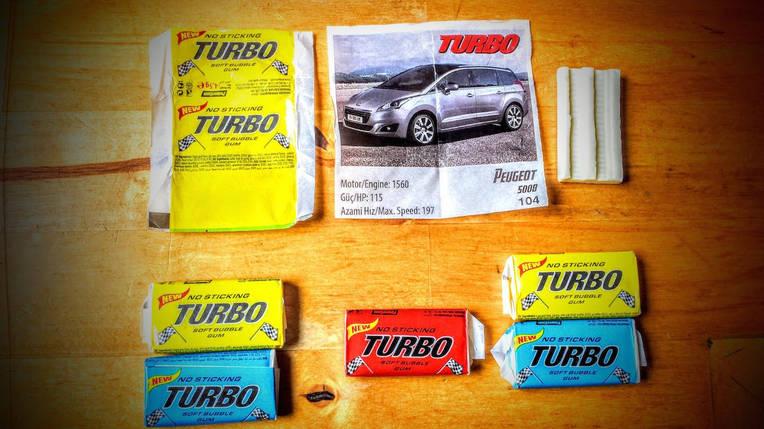 Жевательная резинка Turbo, фото 2