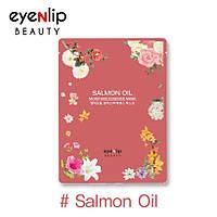 Тканевая маска для лица с маслом лосося Eyenlip Salmon Oil Moisture Essence Mask