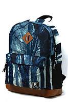 """Стильный молодежный рюкзак """"Туман в лесу"""" № 15"""