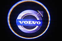 Подсветка дверей авто / лазерная проeкция логотипа Volvo   Вольво