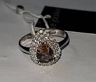Серебряное кольцо с султанитом . Размер 17