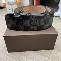 Belt Louis Vuitton Initiales 40MM Damier Graphite