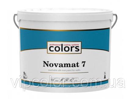 СOLORS Novamat 7 латексная матовая краска для стен База А 9л