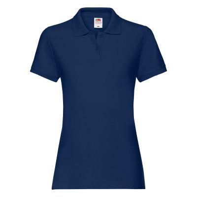 Тенниска женская однотонная летняя синяя