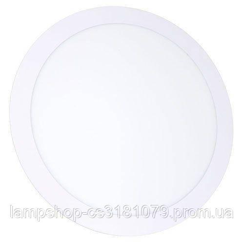 Светильник светодиодный OEM PL-R24 W 24Вт круглый белый