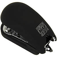 "Степлер ""Buromax"" №24;№26 15арк Rubber Touch міні чорний №4234-01(12)"