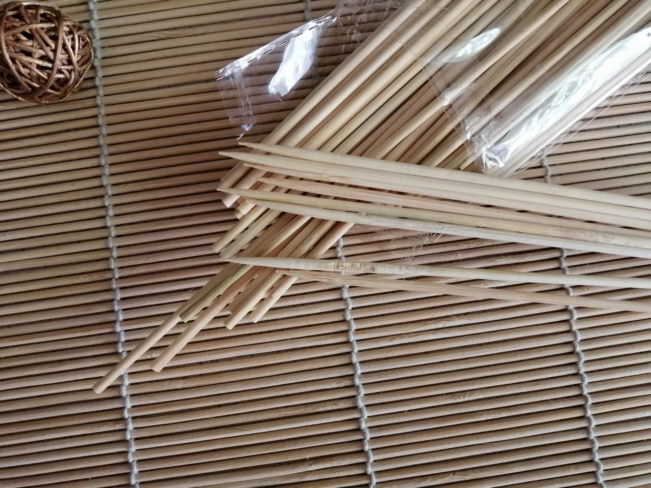 Палочки бамбуковые 20 см