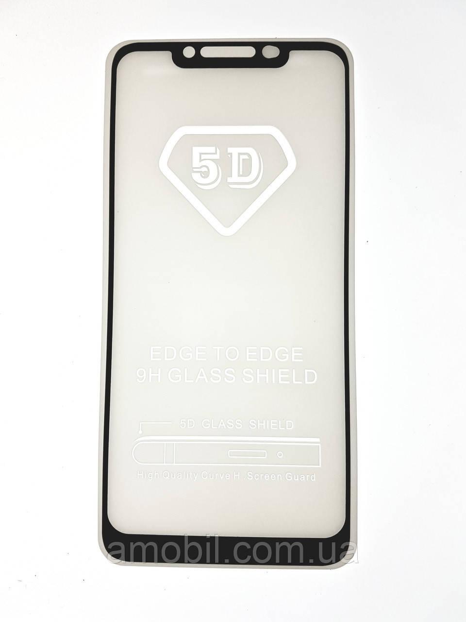 Защитное стекло 5D Xiaomi Redmi Note 6 Pro full glue black