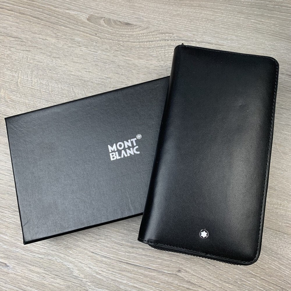 Montblanc Meisterstück Wallet 8cc with Zip Black