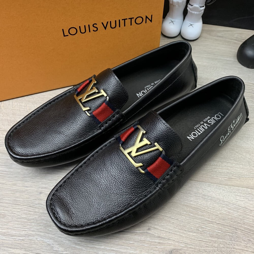 Louis Vuitton Moccasin Monte Carlo Black
