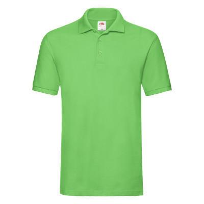 Яркая летняя мужская тенниска салатового цвета (лайм)