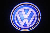 Подсветка дверей авто / лазерная проeкция логотипа Volkswagen | Фольксваген
