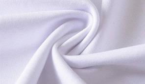 "Мужская футболка 100% Хлопок Марка ""COSTOM"" Арт.1826 (белый), фото 3"