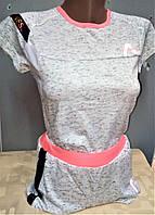 Летний костюм для подростка Summer cold футболка+шорты 10-11  лет