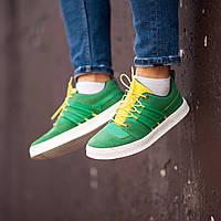 Мужские кроссовкиSouth Mason Green/Yellow