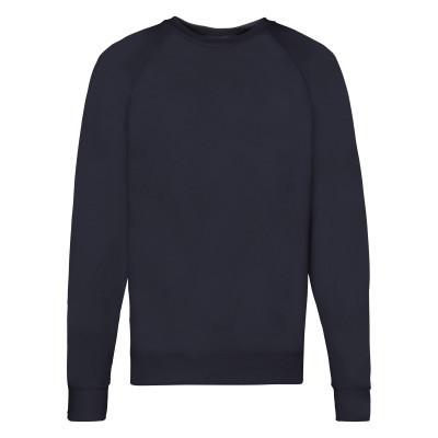 Молодежный мужской свитшот без логотипов темно-синий весна-осень