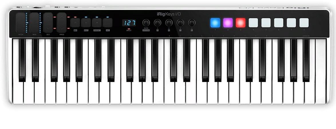MIDI клавиатуры IK MULTIMEDIA iRig Keys I/O 49