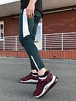 Спортивные штаны LC - Jet зеленый с белым, фото 1