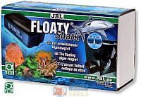 Магнитный скребок JBL Floaty Shark. толщ. стекла 20-30 мм