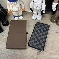 Louis Vuitton Zippy Vertical Damier Graphite, фото 1