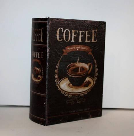 "Книга-сейф ""Coffe"" на ключике, фото 2"