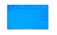 Мат силиконовый термоустойчивый AIDA S-140 для ремонта техники и раскладки запчастей (345x245mm)