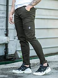 Мужские повседневные брюки карго  BEZET BATTLE KHAKI'19